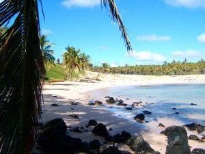 playa isla de pascua