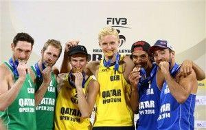 podio qatar 2014