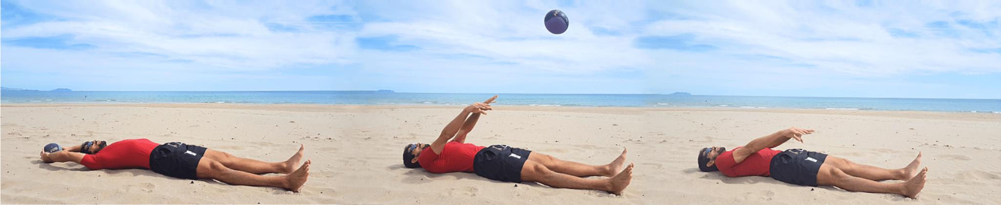 ejercicios de voleibol de playa