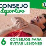 6 CONSEJOS PARA PREVENIR LESIONES