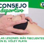 LAS LESIONES MÁS HABITUALES EN EL VÓLEY PLAYA