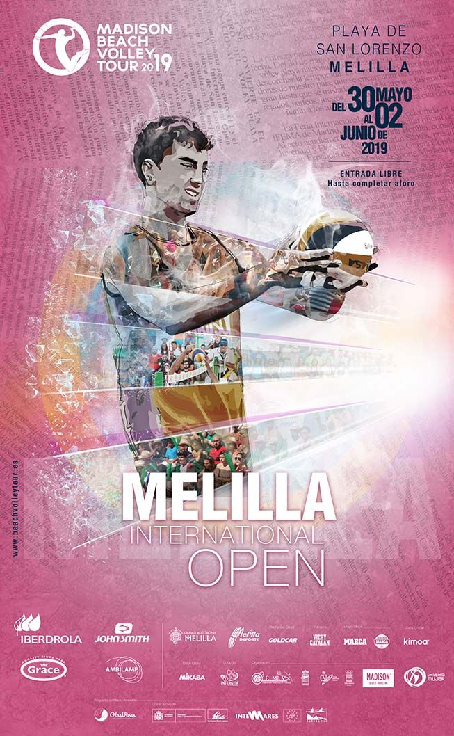 Madison Beach Volley Tour Melilla 2018