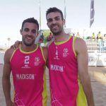 Javier y Vicente Monfort, dos hermanos en la élite del vóley playa