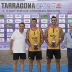 César Menéndez y Alejandro Huerta, un sólido triunfo en Tarragona 2019