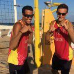 Dexter Edwards y Elio Carrodeguas, dos luchadores sobre la arena de L'Arrabassada