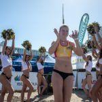 Daniela Álvarez: Del tenis a la élite del vóley playa en 3 años