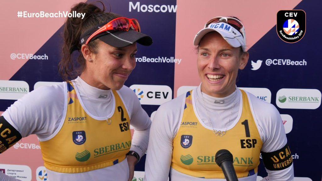 ¡Un año del bronce de Lili y Elsa en el Europeo de Moscú!