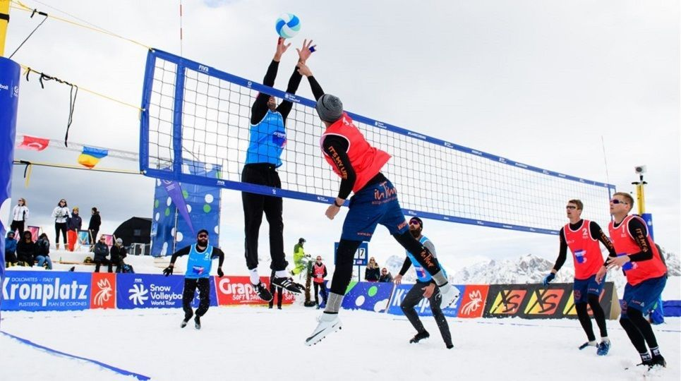 ¡Se acerca la temporada de vóley nieve con los primeros torneos!