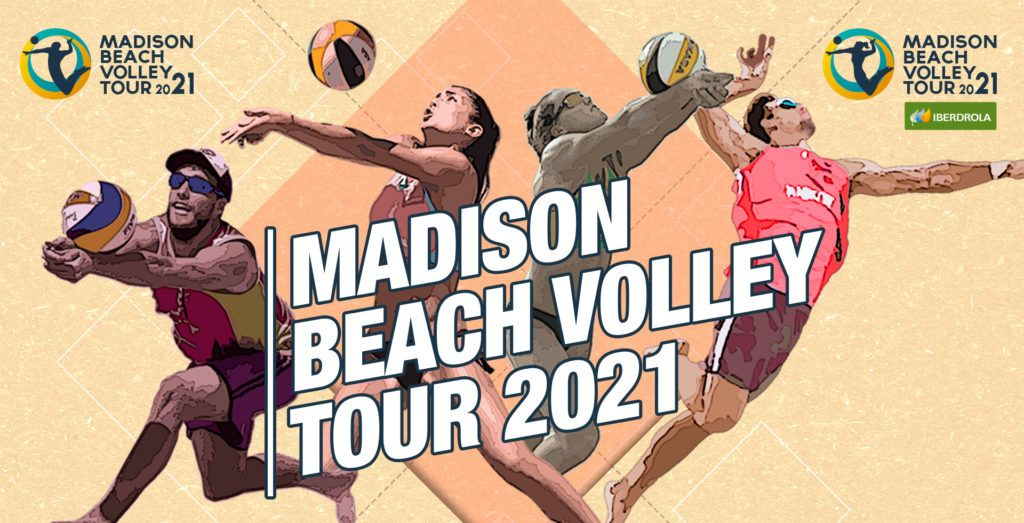Conoce las 6 pruebas del Madison Beach Volley Tour 2021