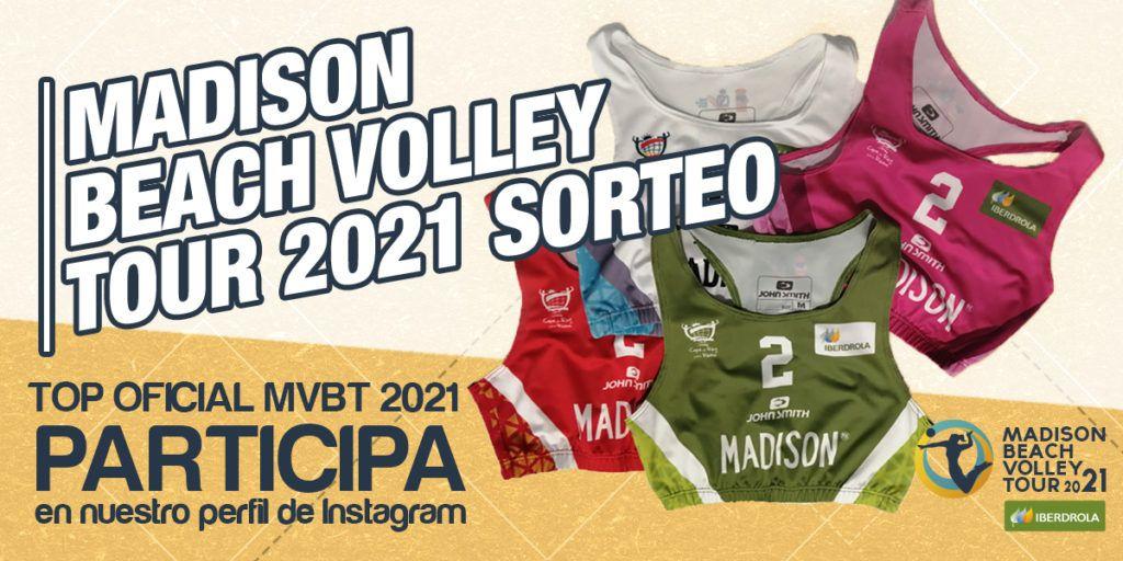 Consigue un top oficial del Madison Beach Volley Tour