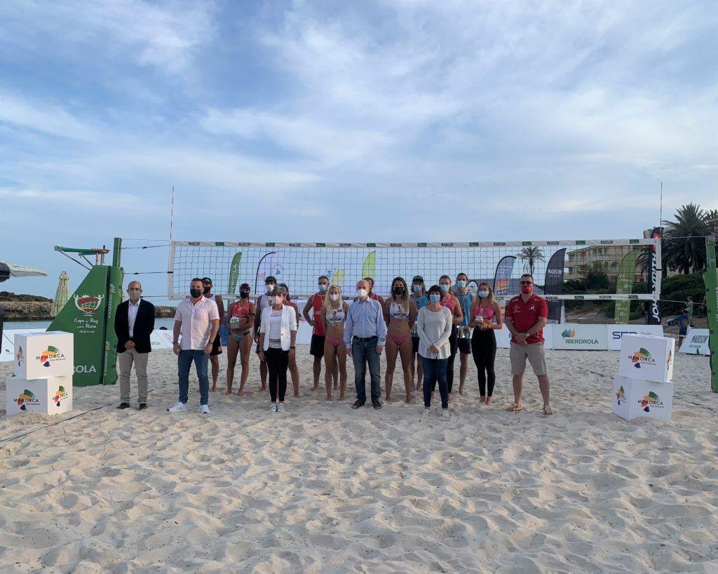 Matos/Platre y Álvarez/Moreno se coronan como ganadores de la Copa del Rey y de la Reina Menorca 2021